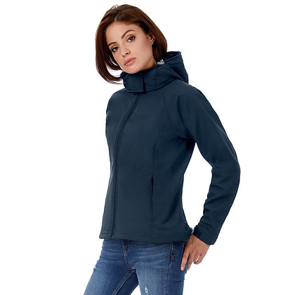 Hooded Softshelljacke Damen