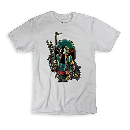 "T-Shirt ""Minion Boba Fett"""