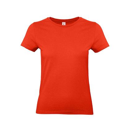 Unisex Basic Damen Shirt