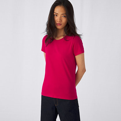 Unisex Basic Damen Shirt