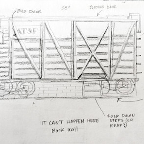 Cattle Car Front