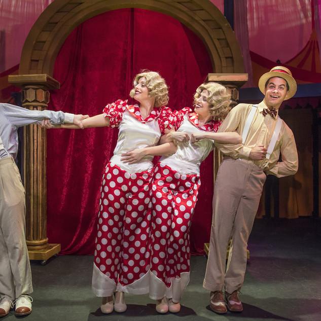Vaudeville Scene