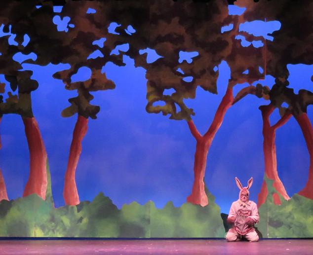 Donkey Falls from Tree