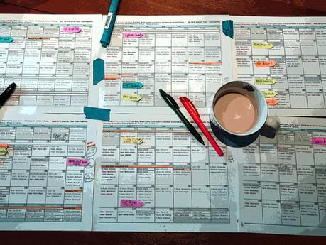 Planning a Season of Design