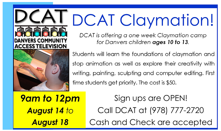 DCAT Claymation