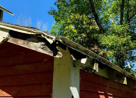 Repair Rotted Roof