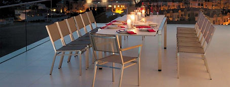 Sunline Patio & Fireside Stainless Steel Furniture