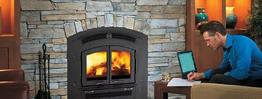 Sunline Patio & Fireside Traditional Gas Fireplace