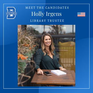Holly Irgens - Library Trustee Candidate