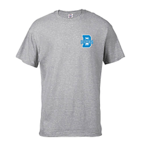 We Are Danvers T-Shirt With Light Blue Logo