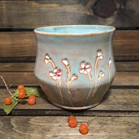 White Blossoms Whiskey Cup