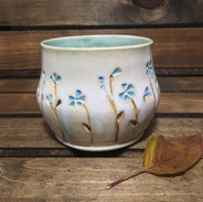 Forget Me Not Wine Cup