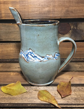 Mountains Pitcher
