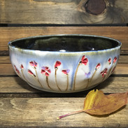 Red Blossoms Bowl