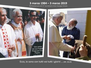 35° Anniversario di Don Pino