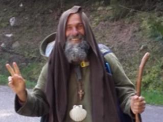 Fratel Biagio riprende il cammino da pellegrino
