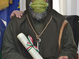 Cittadinanza onoraria di Godrano a Fratel Biagio