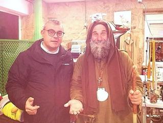 Fratel Biagio finalmente accolto