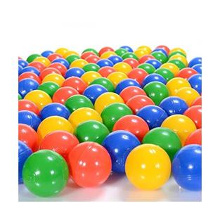 palline di plastica colorate