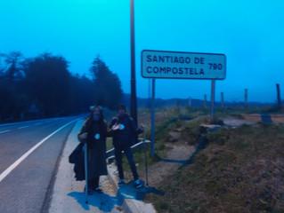 Frate Biagio a Santiago de Compostela