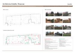analisi e rilievo progetto parco