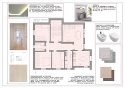 progetto restyling appartamento anni '60