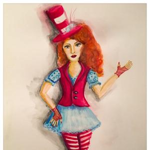 Cat In the Hat Girl