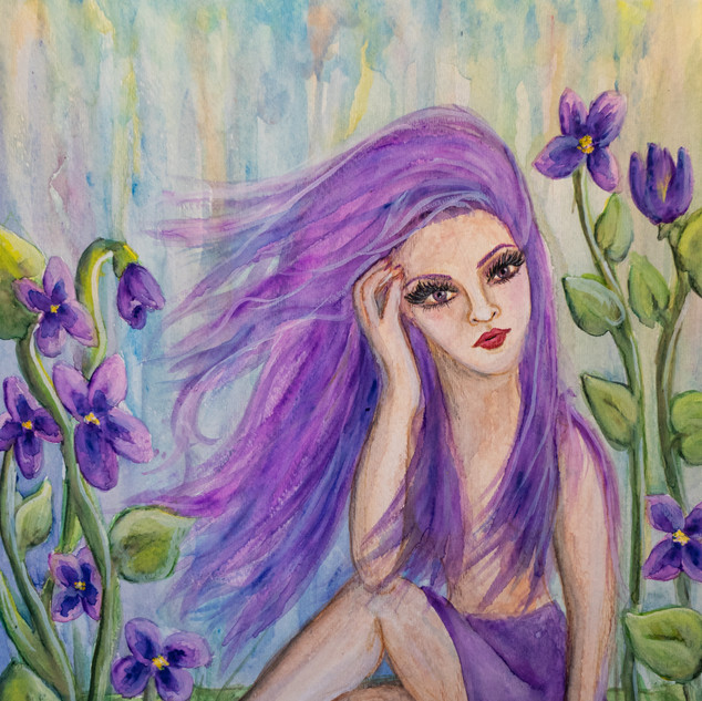 Among the Violets