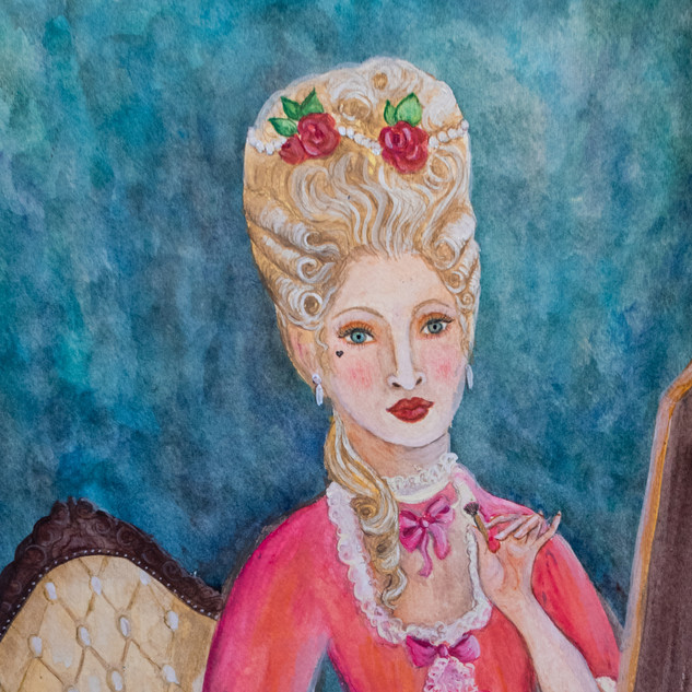 Madamoiselle Rouge