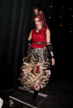 TCE Trash Makeover Fashion design
