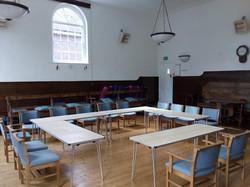 Main Hall - tables setup
