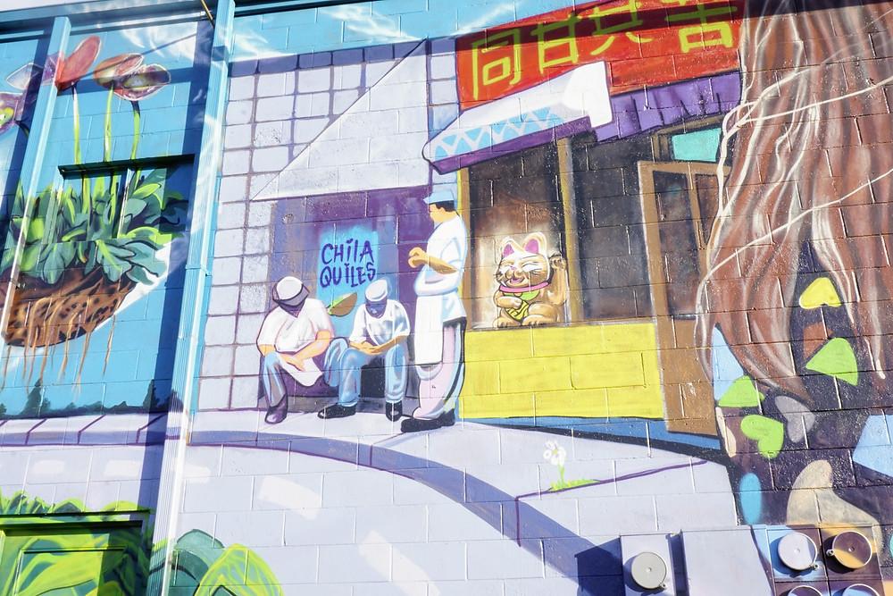 Mural on Fourth Plain Blvd
