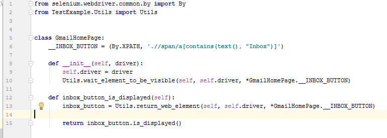 Selenium Page Object Design Pattern Example With Python