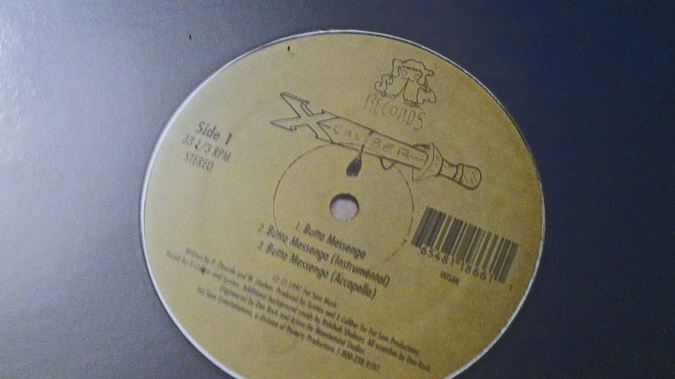 "X-Caliber ""Butta Messenga"" Orginal Pressing 12 inch Vinyl"