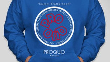 Blue ProQuo #iBHood Hoodies (Blue or Black)