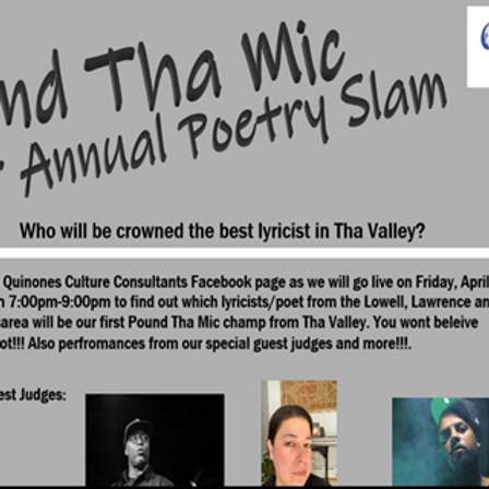 Pound the Mic (Poetry Slam)