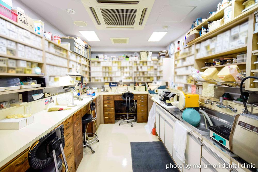 丸森歯科医院 技工室