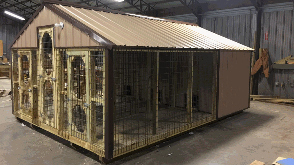 Dog Kennel Portable Buildings : Supershed by derksen portable buildings oklahoma keck