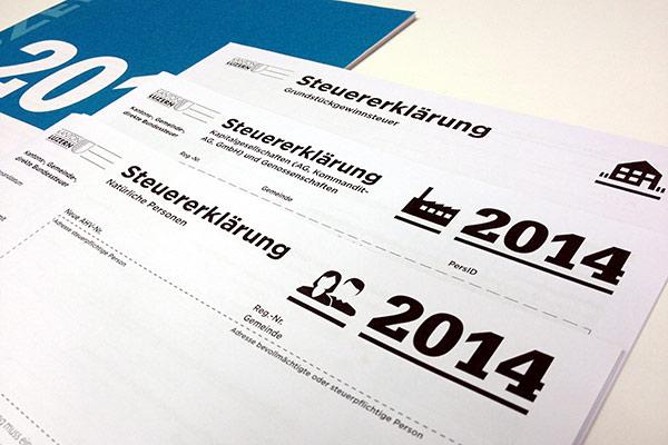 STEUERERKLÄRUNG 2014