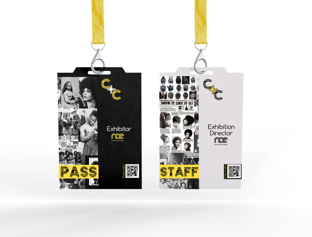 Cultural Exhibition Design: Staff IDs and Visitor Passes