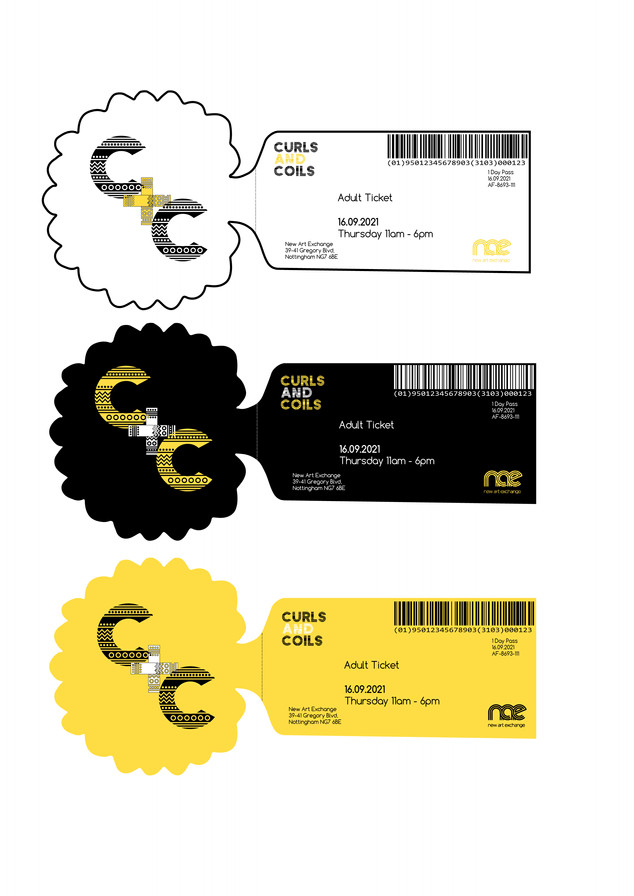 Cultural Exhibition Design: Ticket Design