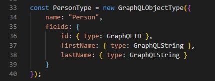 Graphql Object Type