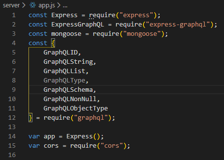 Graphql Imports