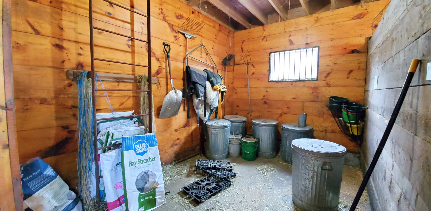 Before in the Feed-Utility Room