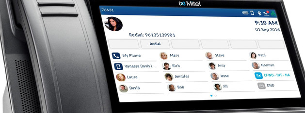 6940 IP Phone screen