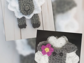 How to Crochet Bo Peep's Lost Sheep