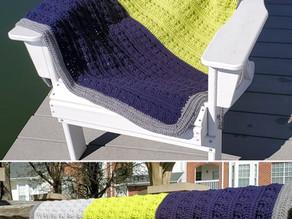 How to Crochet Gideon's Color Block Blanket