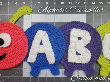 How to Crochet the ABC Caterpillar & LIVE EVENT