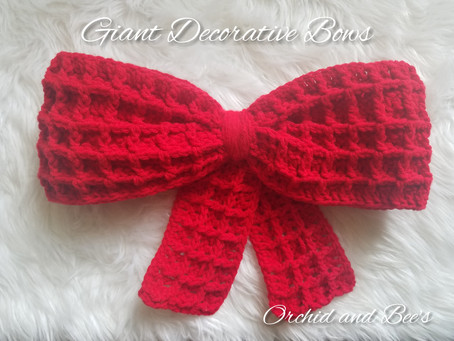 Giant Decorative Bows