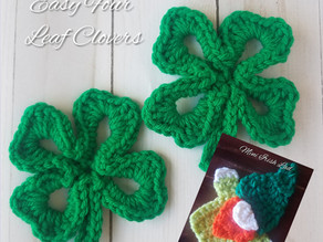 How to crochet a 4 Leaf Clover and a Mini-Irish Lad
